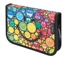 Smiley, emoji tolltartó, klapnis, töltött (19 db-os), Rainbow