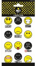 Tetoválás matrica szett, Emoji