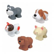 Popbo Blocs kutya és cica figurák