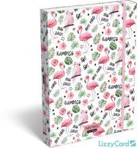Flamingó füzetbox A/4, Lollipop Funmingo