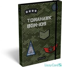 Military füzetbox A/4, #Peace Pixel