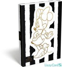 Minnie füzetbox A/4, Fashion White Stripes