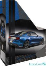 Autós irattartó papucs A/4, Ford Mustang blue