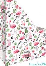 Flamingó irattartó papucs A/4, Lollipop Funmingo