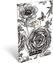 Lizzy Calendar zsebnaptár, heti, A6, tűzött, Cornell Juliette Jones, 2021
