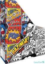 Képregényes irattartó papucs A/4, Supercomics Bazinga