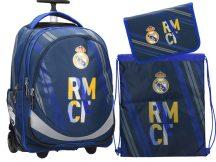 Real Madrid gurulós iskolatáska szett, RMCF, Eurocom