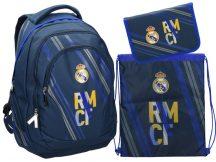 Real Madrid hátizsák, iskolatáska szett, RMCF, Eurocom