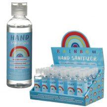 Kézfertőtlenítő gél, 100 ml, szivárványos üvegben