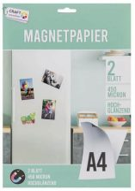 Mágneses fotópapír, A/4, 2 lap/csomag