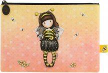 Santoro Gorjuss, kozmetikai táska, neszeszer 24x17x2cm, műbőr, Bee-Loved