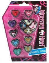 Monster High nyomda szett, 9 db-os