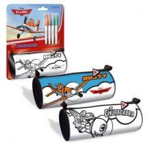 Repcsik színezhető tolltartó, beledobálós, hengeres 8 x 21 x 8 cm