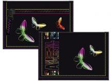Animal Planet pénztárca, 13x8,5 cm, lepkés
