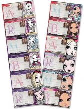 Ever After High füzetcímke 6 db/ív