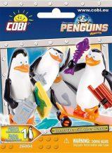 Madagaszkár Pingvinjei 1 db-os zsákbamacska figura, 5 féle változat