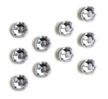 Mágnesek, bling bling, 10 db-os, Lucy - csillogó