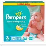 Pampers Mega Box