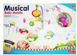 Felhúzható, forgó-zenélő játékok